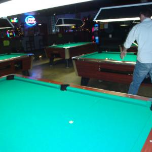 10 - 7' coin-op, bar box pool tables - AFTER recovery